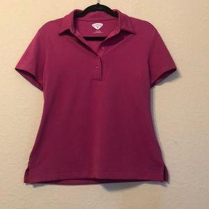 Callaway pink golf polo Gently worn